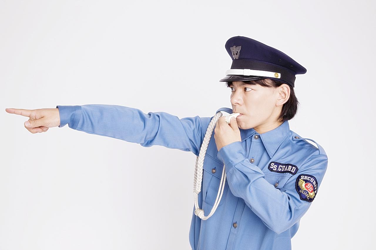 警備会社の警備員