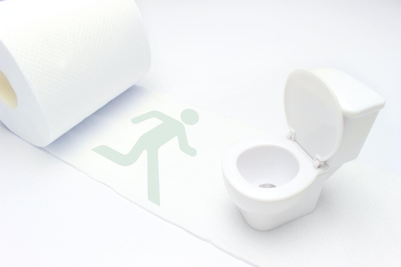 トイレへ避難